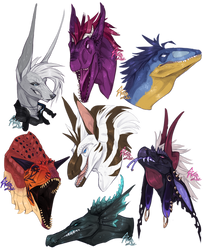 .:Gifts and Comms:. Dinos and other by Spectrosz