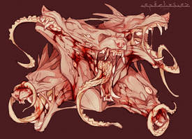 .:Goretober:. Angry Meatball