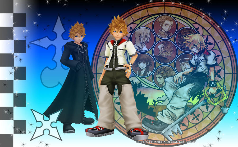 Roxas Wallpaper By RoxasTsuna On DeviantArt