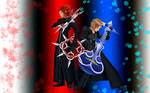 Axel and Demyx wallpaper