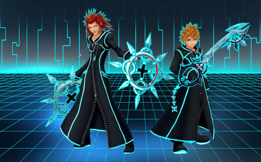 Tron Axel And Roxas Wallpaper By RoxasTsuna On DeviantArt