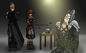 Tormenting Sephiroth by RoxasTsuna