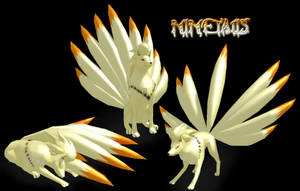 MMD Ninetails by RoxasTsuna