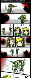 Bewear of the Imortals: Zelda Short Comic by RoxasTsuna