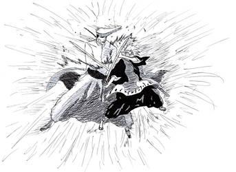 Toushiro vs Shawlong by boy233