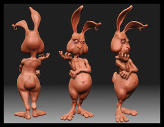 Le Rabbit - ZBrush by JoseAlvesSilva