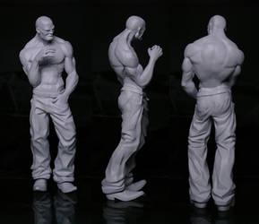 Barrio Guy - 3D Print 2 by JoseAlvesSilva