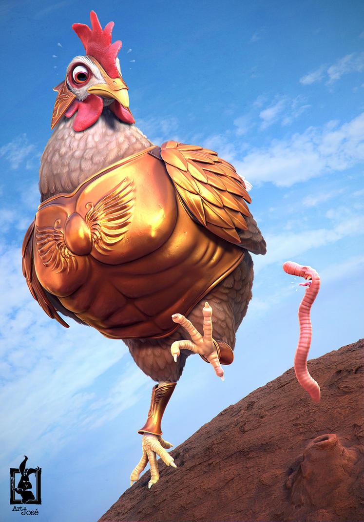 Chicken by JoseAlvesSilva