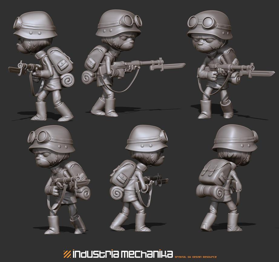 Soldier 1 by JoseAlvesSilva
