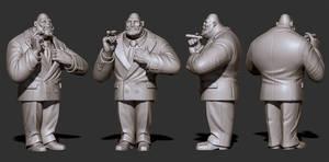 Mr. Walthersnap - ZBrush by JoseAlvesSilva