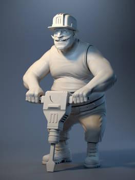 Big Bridge Worker