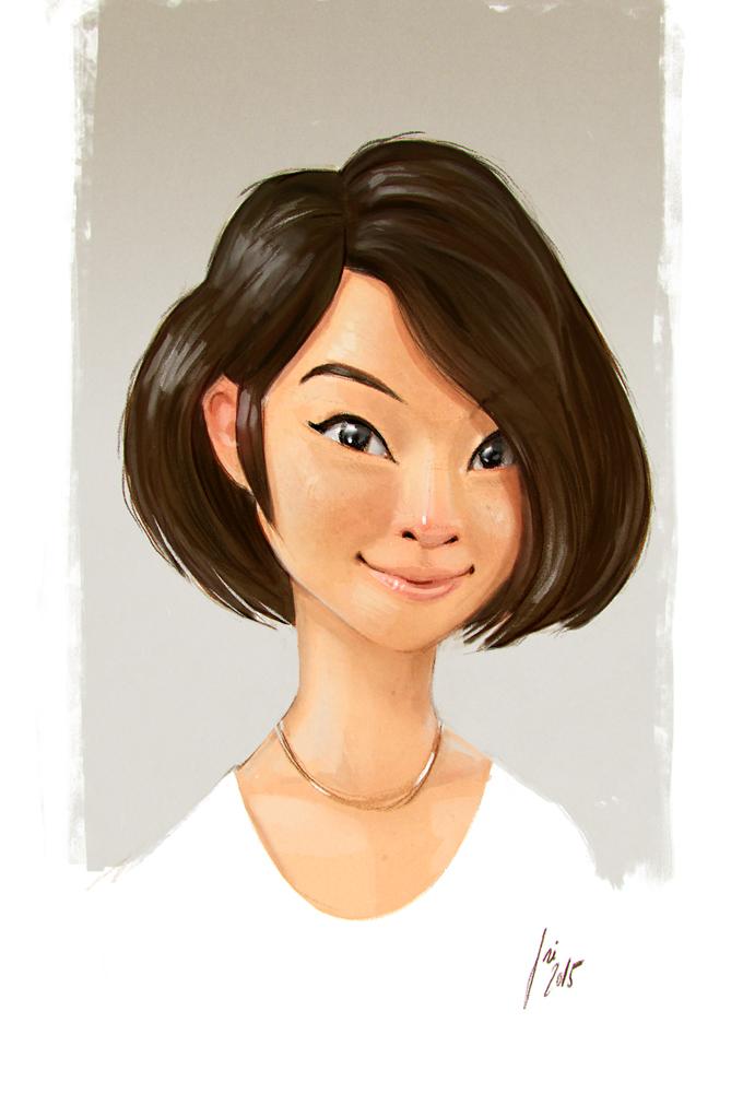 Asian Girl by JoseAlvesSilva