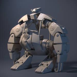 Brooklyn Bridge Robot