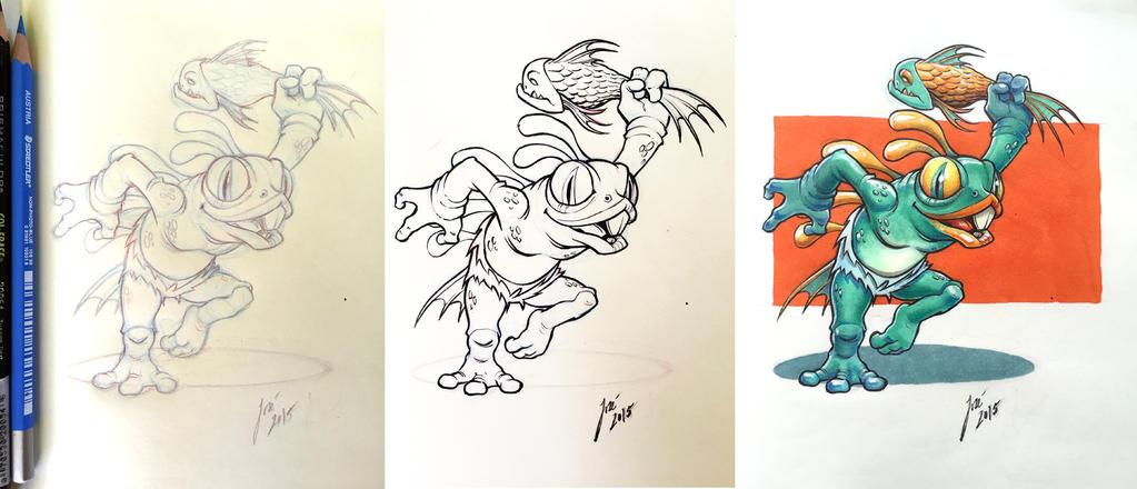 Murky - sketch by JoseAlvesSilva