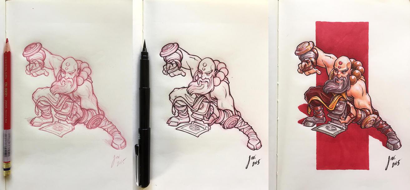 Kharazim - sketch by JoseAlvesSilva
