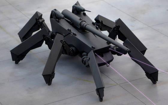 Multi-legged Armored-Weapon System M4A3 Vanargand