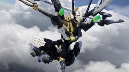 Orbital Frame Naked-JEHUT(Flight Form)