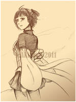 -Suiko V-  Nameless Tears by silverreprisal