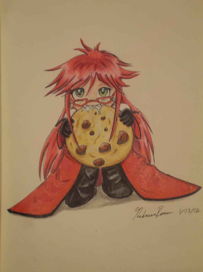Grell's cookie by cococream45