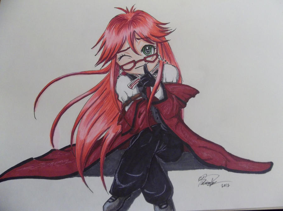Grell's little Secret by cococream45