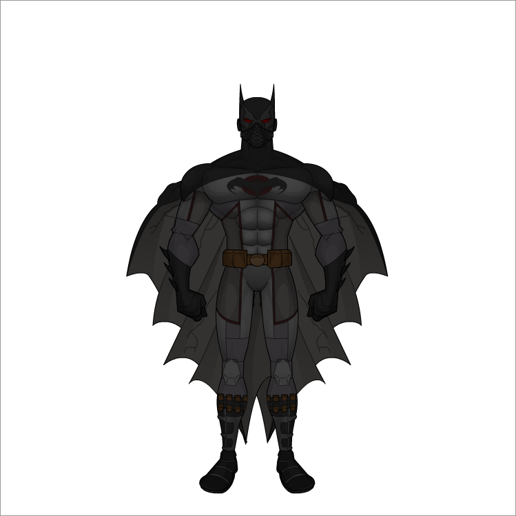 batman redesign by All10