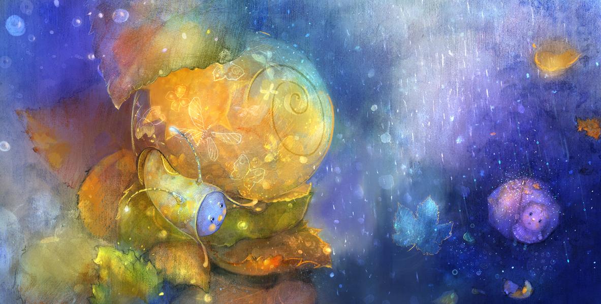 snail by smokepaint