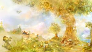 wallpaper in the nursery