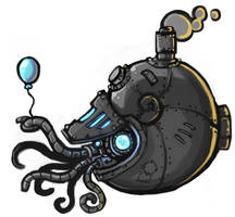 A Mechanical Mollusc by CyborgNecromancer