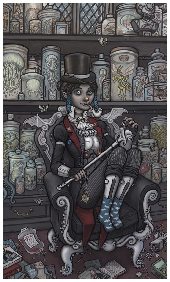 Victorian Kensington by CyborgNecromancer