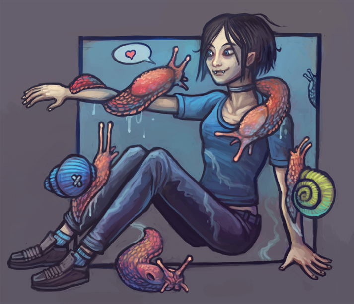 Molluscs by CyborgNecromancer