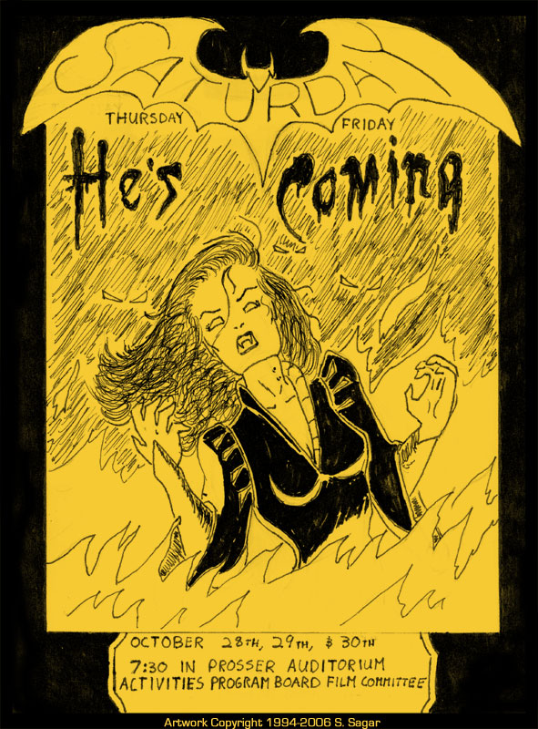 Film-Poster-Halloween-1994 by RFComics