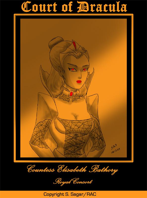 Court of Dracula--Countess Elizabeth Bathory by RFComics