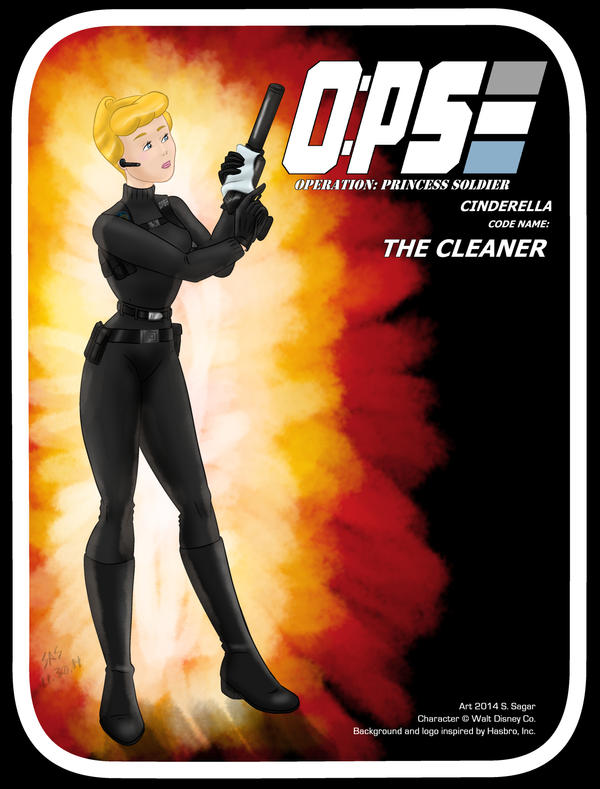 Disney's O:PS 2 of 13: Code Name: THE CLEANER by RFComics