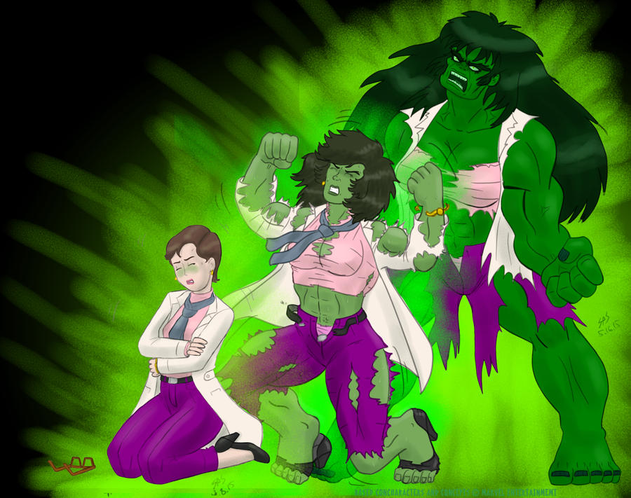 Incredible She-Hulk--Transformation by Dragonfly177 on ...