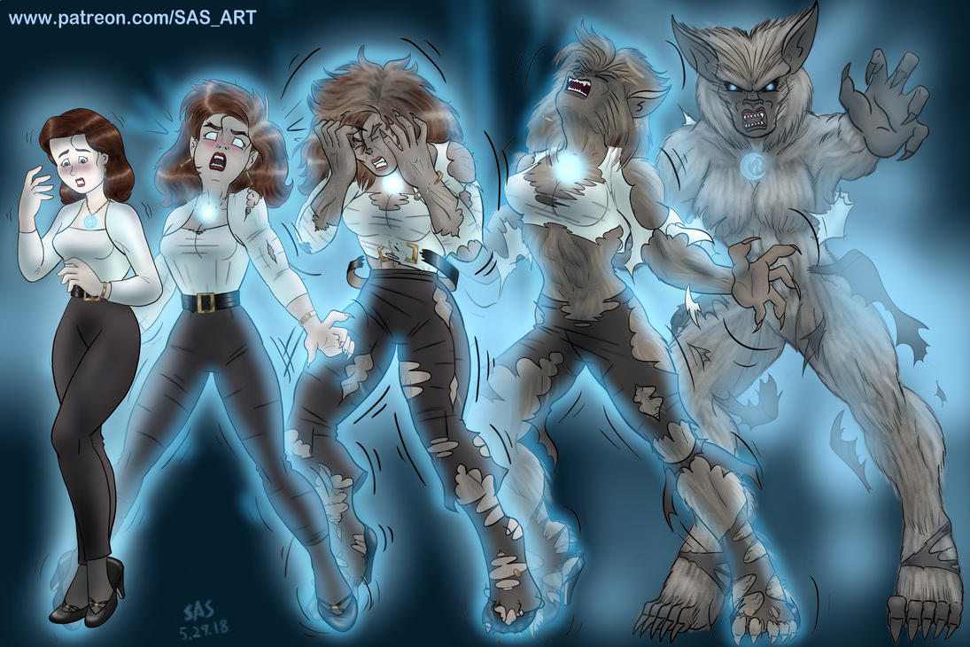 She-Wolf at 30: The Original Transforms by SAS-Art72