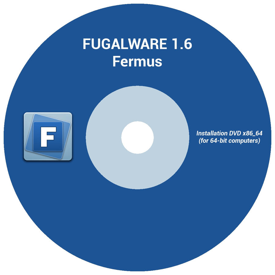 CD Label for 1.6 Fermus by frugalware