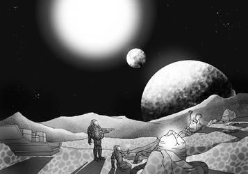 DESAFIO DESENHE - GRUPO ESD - SPACE EXPLORATION by DiegoMaster