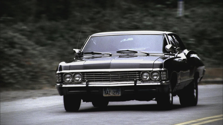 Supernatural Impala Running By Projectthx138