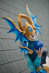 Atlantean Syndra Cosplay by Geckozilla4