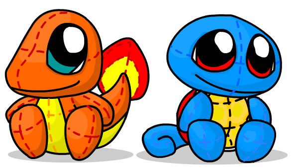 Squirtle Toy! by WarBandit
