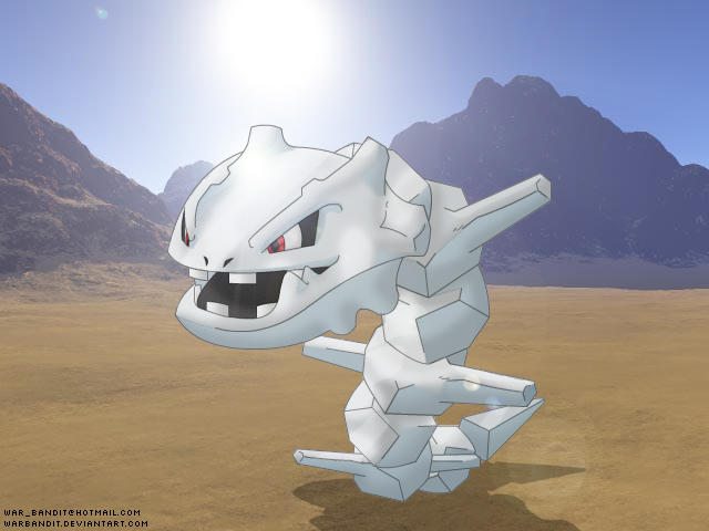 Mighty Steelix by WarBandit