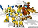 Medabots - Team Japan