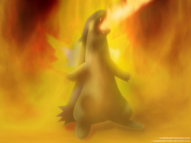 Inferno Typhlosion by WarBandit
