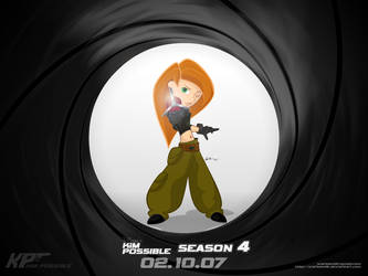 Kim Possible - Bond style by WarBandit