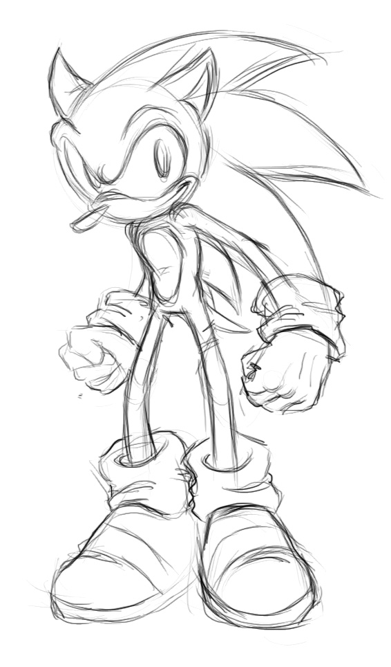 240908_Sonic by saiyanhajime