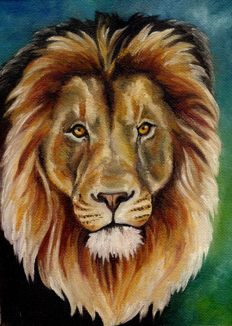 181108_lion by saiyanhajime