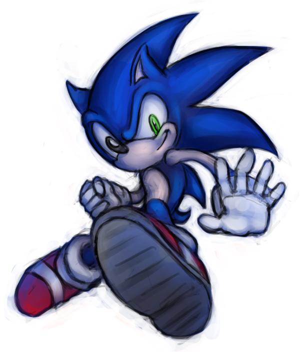 060414 Sonic by saiyanhajime
