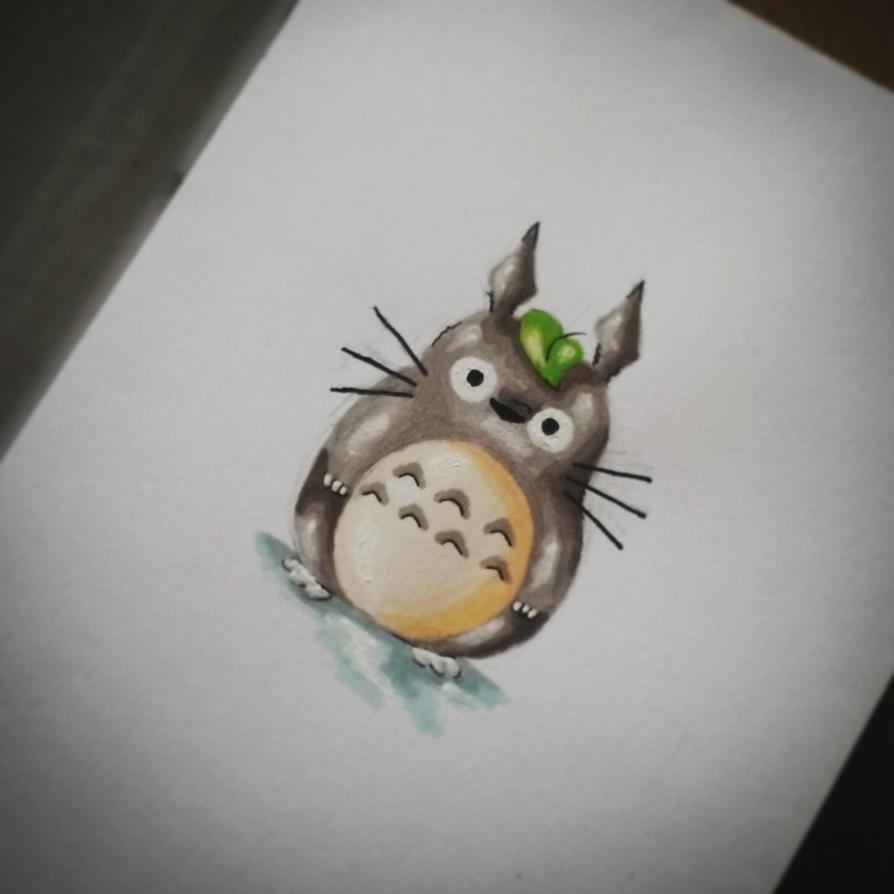 My Neighbor Totoro by yo-yo09