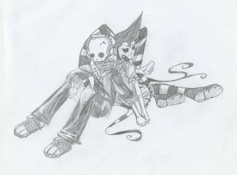 Death Jr. by f-e-t-u-s