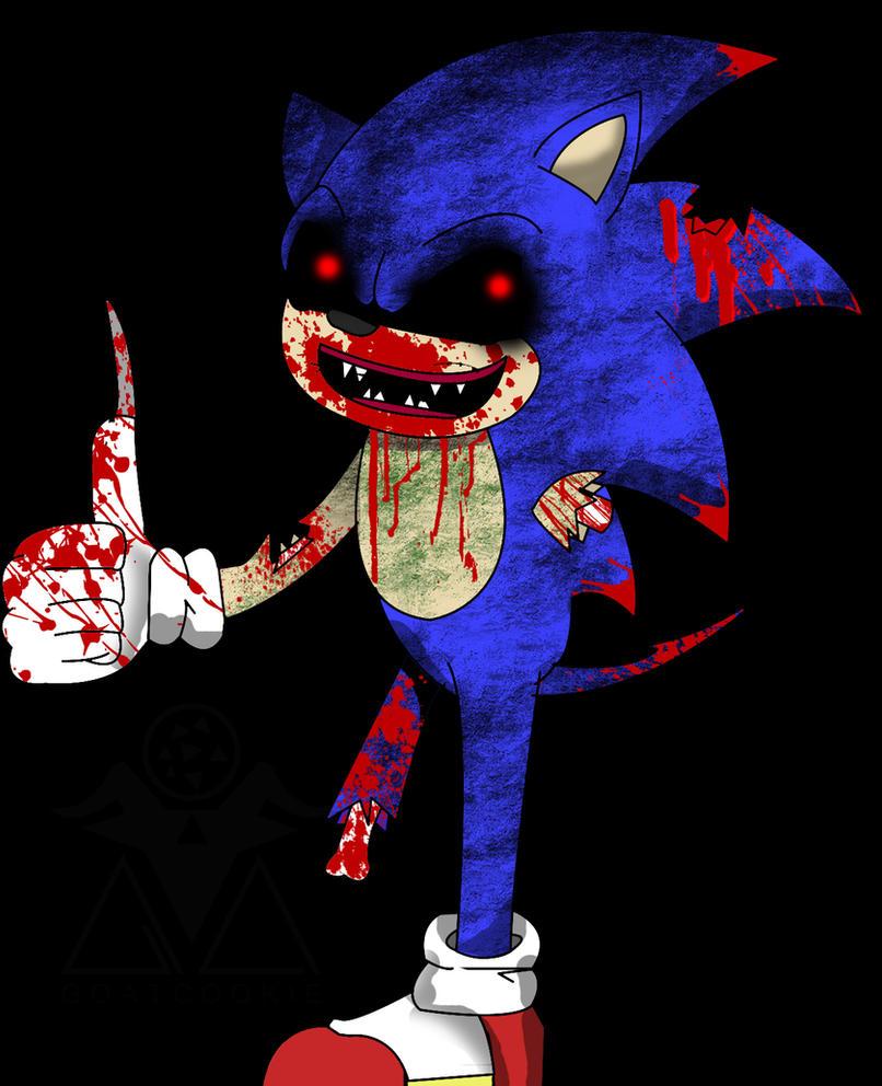 Zombie Sonic by Goatcookie